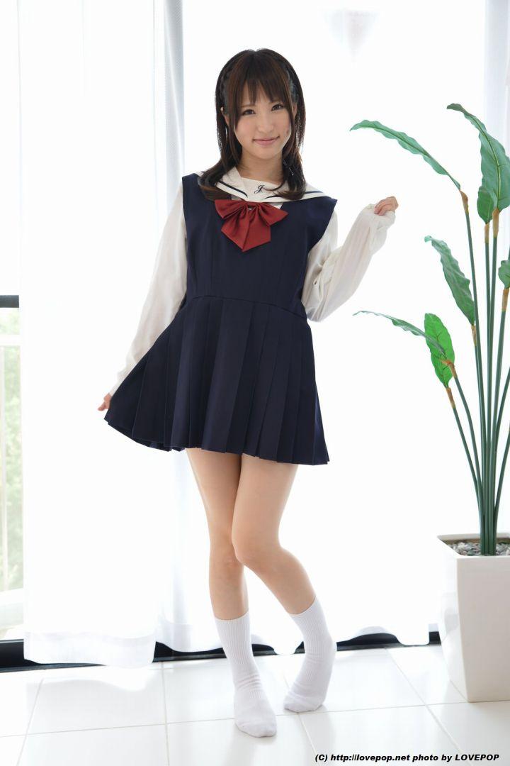 天使もえのお嬢様風なセーラー服画像: http://www.jkseifukufetish.com/amatukamoesalorjk615.html