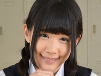 涼宮琴音の白ハイソでワンピな女子校生制服画像