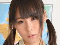 北川ゆずの女子校生制服コスプレパンチラ画像