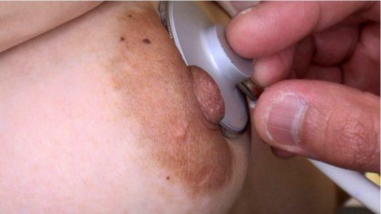 女子校生の乳首健康診断