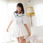 近藤あさみの白ハイソックスなセーラー服画像