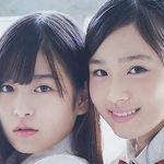 HKT48荒巻美咲と月足天音の女子校生制服画像