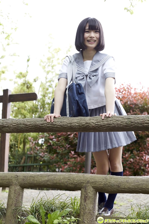 平川舞弥の白い太ももがエロいJK制服画像 | 女子校生制服マニ