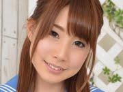 長谷川るい 紺色ハイソックスなセーラー服画像